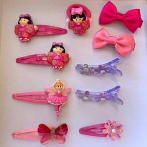 UNIQUE Mixed Hair Clips and Hair Ties